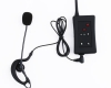 EJEAS FBIM 4 way soccer radio communication intercom referee headset-4