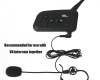 Vnetphone V4 4 Riders 1.2km Full Duplex Motorcycle Intercom-4