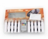 Wireless Remote Control Christmas Tree Candles Warm White Light CK01-WM1006-8